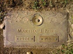 Mrs Martha Jane Martha <i>Ensley</i> Burt