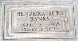Hendrika Ruth <i>Stevens</i> Banks
