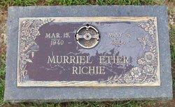Murriel <i>Etier</i> Richie