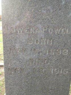 Rowena <i>Wellons</i> Powell