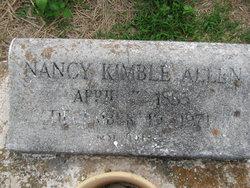 Nancy <i>Kimble</i> Allen