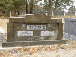 Alice B <i>Marsh</i> DeZurik