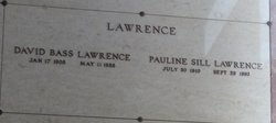 Pauline <i>Sill</i> Lawrence