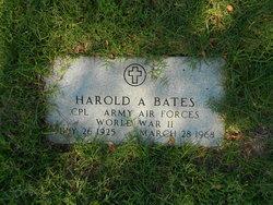 CPL Harold A Bates