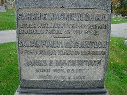 Dr Sarah <i>Fonda</i> Mackintosh