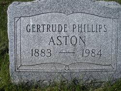 Gertrude <i>Phillips</i> Aston