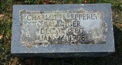 Charlotte Temple <i>Epperly</i> Ballinger