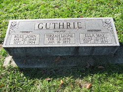 Ella May <i>Hutchings</i> Guthrie