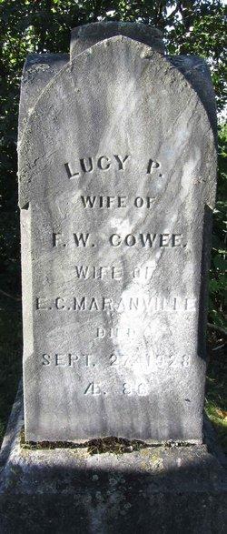 Lucy P. <i>Hale</i> Cowee Maranville
