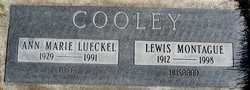 Anna Marie <i>Lueckel</i> Cooley