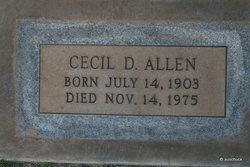 Cecil Dennis Bill Allen