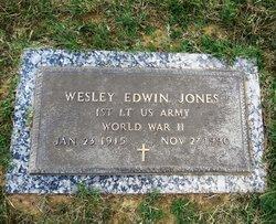 Wesley Edwin Jones