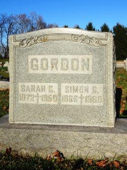Sarah Catherine <i>Shrider</i> Gordon