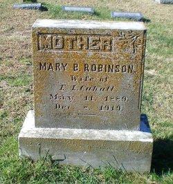 Mary E. <i>Robinson</i> Cahall