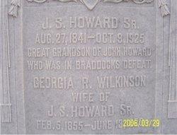 Georgia Rebecca <i>Wilkinson</i> Howard