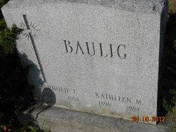 Kathleen Marie <i>McGonigle</i> Baulig