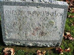 Chaster B Hollenback