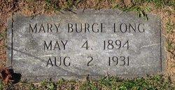 Mary Magdalene <i>Burge</i> Long