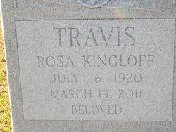 Rosa <i>Kingloff</i> Travis