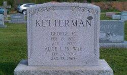 Alice L <i>Patterson</i> Ketterman