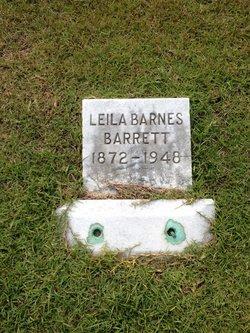 Leila <i>Barnes</i> Barrett