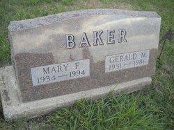 Mary Frances <i>Joy</i> Baker