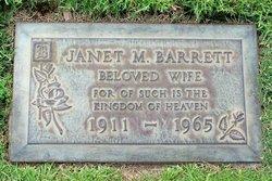 Janet M Barrett