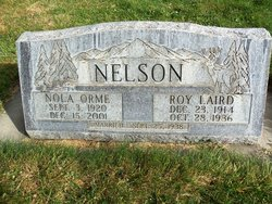 Roy Laird Nelson