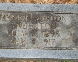 Myrtle <i>Horton</i> Anderton
