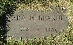 Sarah <i>House</i> Bearden