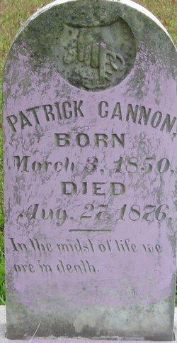 Frederick Patrick Cannon