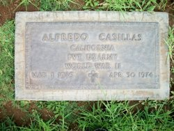 Pvt Alfredo Casillas