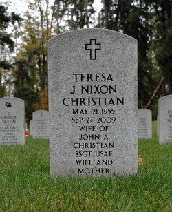 Teresa Jane <i>Nixon</i> Christian