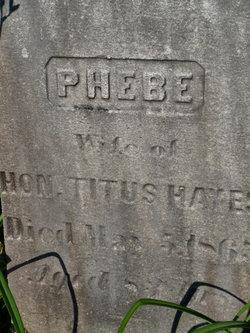 Phebe I. <i>Cooley</i> Hayes