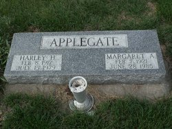 Margaret A. <i>Jorgensen</i> Applegate