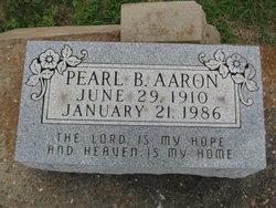 Pearl B Aaron