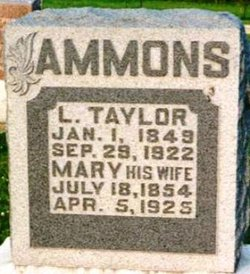 Mary <i>Yeager</i> Ammons