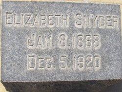 Elizabeth <i>Hardy</i> Snyder