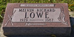 Melvin Richard Lowe