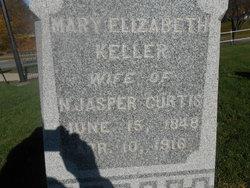 Mary Elizabeth <i>Keller</i> Curtis