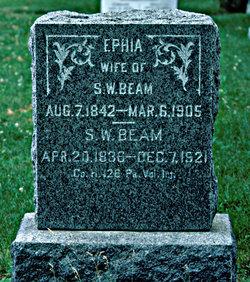 Ephia Matilda <i>Keefer</i> Beam