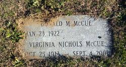 Virginia <i>Nichols</i> McCue