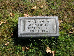 William A McNaight