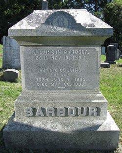 Harriet Hattie <i>Collins</i> Barbour