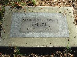 Marion Pearle <i>Williams</i> Ballou