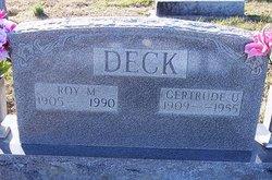 Gertrude Eulene <i>Shell</i> Deck