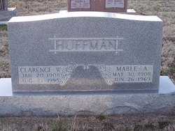 Clarence W Huffman