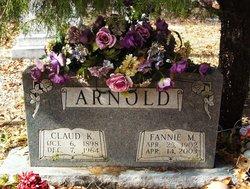 Claud K Arnold