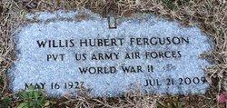 Willis Hubert WH Ferguson