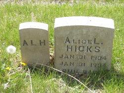 Alice L Hicks